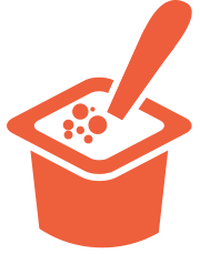 Snack toppings icon