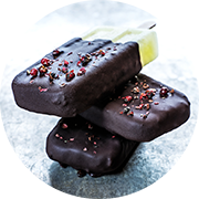 chocolate and peppercorn bar